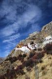 Drak årseremitboning nära Lhasa, Tibet Fotografering för Bildbyråer