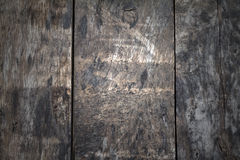 Drak wooden planks. Wooden planks in variation of colors Royalty Free Stock Image
