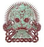 Revolt royaltyfri illustrationer