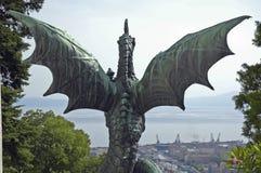 drake Royaltyfri Fotografi