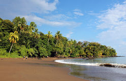 Drake Bay,. View of Drake Bay, Osa Peninsula, Costa Rica Royalty Free Stock Image