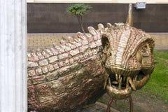 Drake för mytiskt monster royaltyfri foto