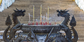 Drake för rökelsegasbrännare Royaltyfri Bild