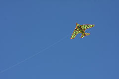 Drake i skyen Arkivbilder