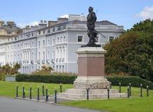 Drake Monument, Plymouth-Schoffel royalty-vrije stock afbeeldingen