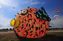 Drake och ballong Arkivbilder