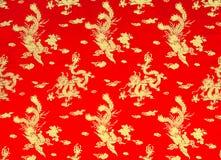 Drake och phoenix Royaltyfria Bilder