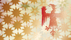 Drake och stjärna Arkivbilder