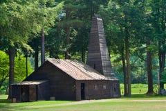 Drake Oil Well en Titusville, PA fotografía de archivo libre de regalías