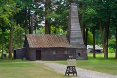 Drake Oil Well i Titusville, PA arkivbilder