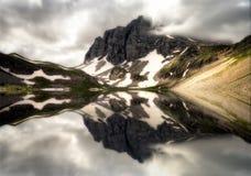 Drake sjö i Timfi Royaltyfri Bild