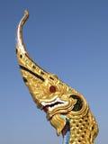 drakebildtempel Royaltyfri Foto