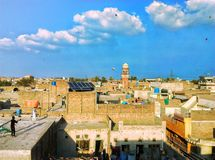 Drakefestival Pakistan Faisalabad royaltyfri foto