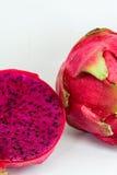 Drakefrukt eller pittaya Royaltyfri Foto