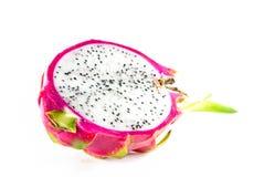 Drakefrukt på vit bakgrund Royaltyfria Foton