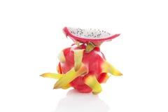 Drakefrukt, pitaya Arkivbild