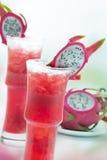 drakefruktfruktsaft Royaltyfri Foto