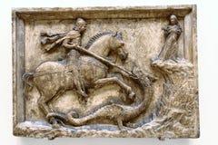 drakegeorge saint Royaltyfri Fotografi