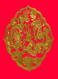 drakeguld Royaltyfri Bild