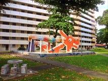 Drakelekplats - Singapore Royaltyfri Fotografi