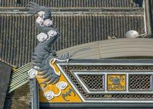 Draken äter taket Royaltyfri Fotografi