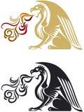 Draken Royalty-vrije Stock Fotografie