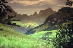 Drakensberg Arkivfoto