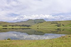 Drakensberg Zdjęcie Royalty Free