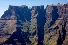 非洲南drakensberg的山 库存照片