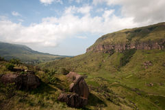 Drakensberg berg royaltyfria bilder