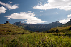 Drakensberg berg arkivbild