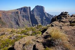 Drakensberg berg Arkivbilder