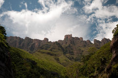 Die Drachenberge-Berge Stockbild