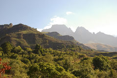 Drakensberg Dragon mountains landscape Royalty Free Stock Photography