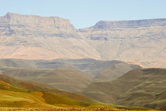 Drakensberg Dragon mountains landscape Royalty Free Stock Photos