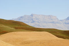 Drakensberg Dragon mountains landscape Stock Image