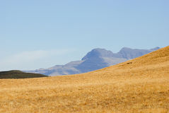 Drakensberg Dragon mountains landscape Stock Images