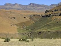 Drakensberg Dragon mountains landscape Royalty Free Stock Photo