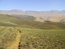 Drakensberg Dragon mountains landscape Royalty Free Stock Images