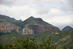 Drakensberg en Suráfrica cerca del hoedspruit Imágenes de archivo libres de regalías