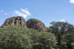 Drakensberg en Suráfrica cerca del hoedspruit imagenes de archivo