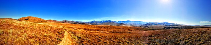Drakensberg Grasslands Royalty Free Stock Photo