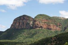 Drakensberg i Sydafrika nära hoedspruit Arkivbilder