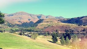 Drakensberg landscape Royalty Free Stock Images