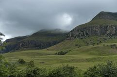Free Drakensberg Mountain In One Stormy Day Royalty Free Stock Photography - 54728557