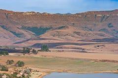 Drakensberg Mountain Range Royalty Free Stock Photos