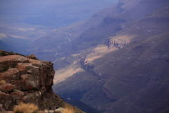 Drakensberg mountain view south africa Royalty Free Stock Photos