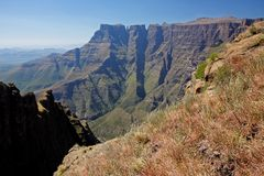 Drakensberg mountains Royalty Free Stock Photo