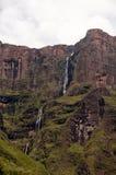Drakensberg mountains. Landscape at Amphitheater in the Drakensberg mountains Stock Image