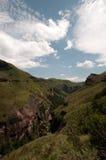 Drakensberg mountains. Landscape at Amphitheater in the Drakensberg mountains Royalty Free Stock Image
